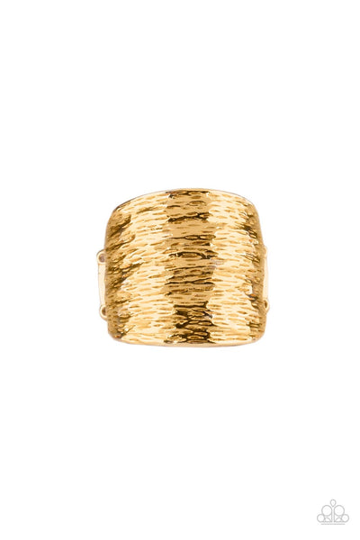 Paparazzi Paleo Patterns - Gold Ring - Princess Glam Shop