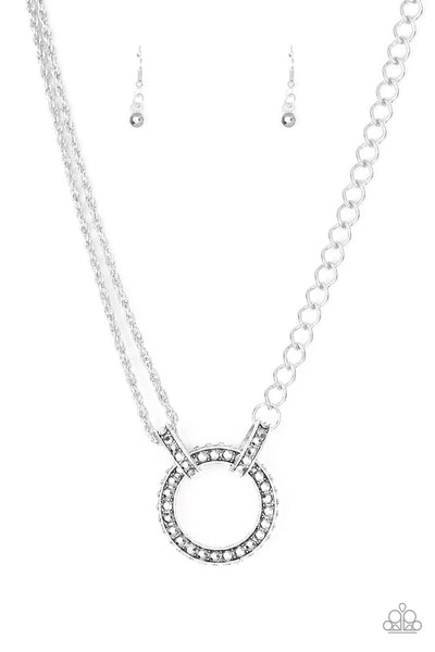 Paparazzi Razzle Dazzle - White Necklace Set - Princess Glam Shop