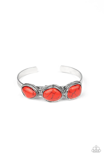 Paparazzi Stone Shop - Red Bracelet - Princess Glam Shop