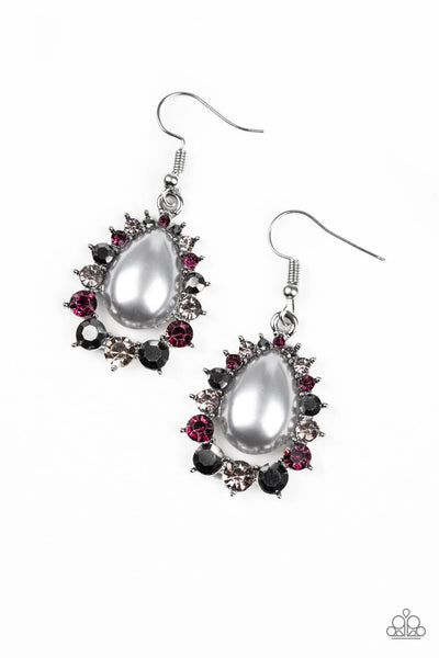 Paparazzi Regal Renewal - Multi Teardrop Earrings - Princess Glam Shop