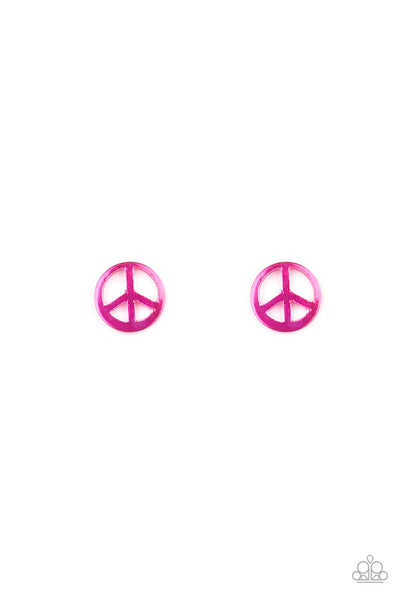 Paparazzi Starlet Shimmer Peace Sign Earring Bundle - Princess Glam Shop
