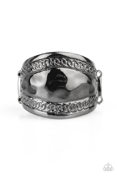 Paparazzi Sunset Groove Black Ring - Princess Glam Shop