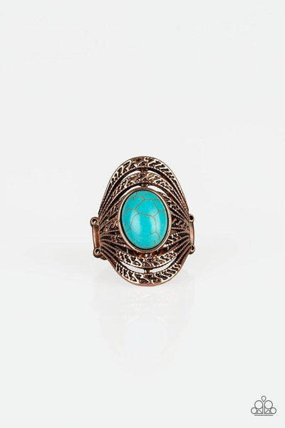 Paparazzi Royal Roamer - Copper Ring - Princess Glam Shop
