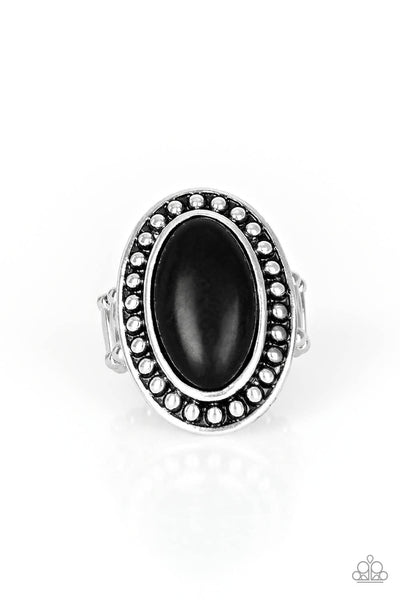 Paparazzi Desert Heat - Black Ring - Princess Glam Shop