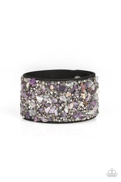 Paparazzi Crush Rush - Purple Bracelet - Princess Glam Shop
