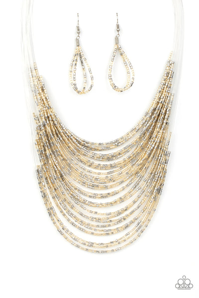 Paparazzi Catwalk Queen - Multi Seedbead Necklace Set - Princess Glam Shop