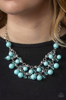 Paparazzi Seaside Soiree - Blue Necklace Set - Princess Glam Shop