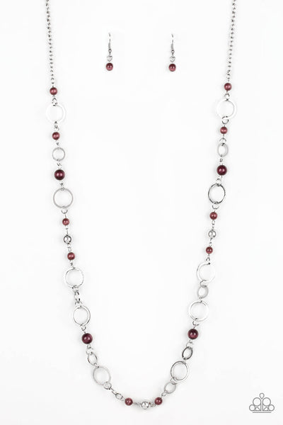 Paparazzi Kid In A Candy Shop - Purple Moonstone Necklace Set - Princess Glam Shop