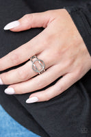 Paparazzi City Center Chic - Silver Ring - Princess Glam Shop