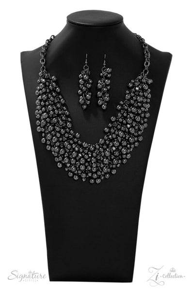 Paparazzi The Kellyshea - 2019 Signature Zi Collection Necklace Set - Retired - Princess Glam Shop