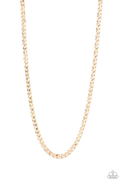 Paparazzi Delta - Gold Necklace - Princess Glam Shop