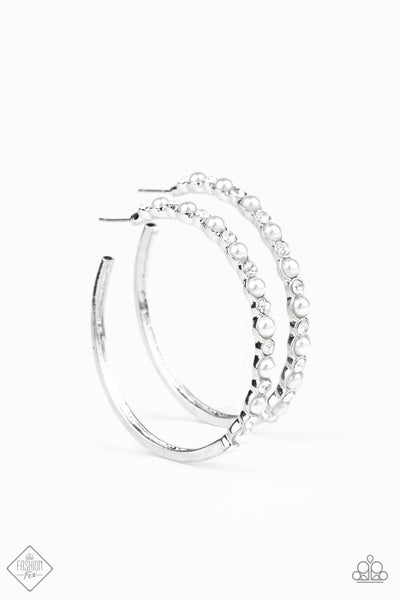 Paparazzi A Sweeping Success Hoop Earrings - Princess Glam Shop