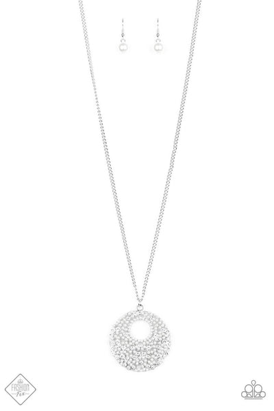 Paparazzi Pearl Panache Necklace Set - Princess Glam Shop