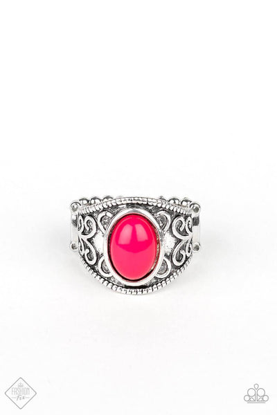 Paparazzi Lets Take It From The POP - Pink Ring - Princess Glam Shop