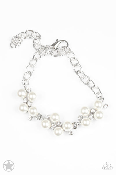 Paparazzi I Do White Pearl Bracelet - Princess Glam Shop