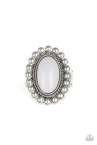 SOLD OUT Paparazzi Ready To Pop Silver Ring - Princess Glam Shop