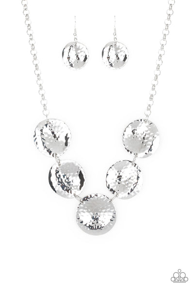 Paparazzi First Impressions - Silver Necklace Set - Princess Glam Shop