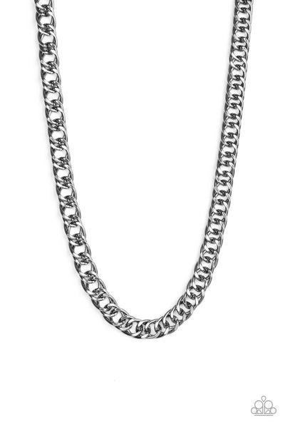 Paparazzi Omega - Black Necklace - Princess Glam Shop