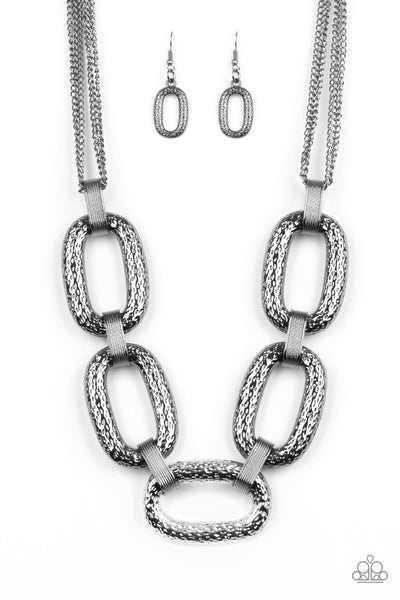 Paparazzi Take Charge - Link Necklace Set - Princess Glam Shop
