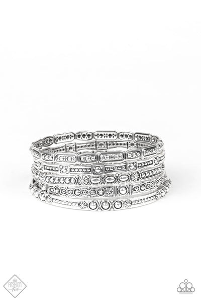 Paparazzi Tribal Tycoon Bangle Bracelet Set- Princess Glam Shop