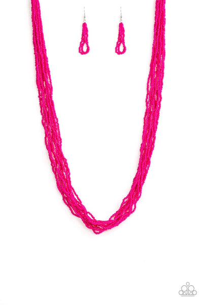 Paparazzi Congo Colada - Pink Necklace Set - Princess Glam Shop