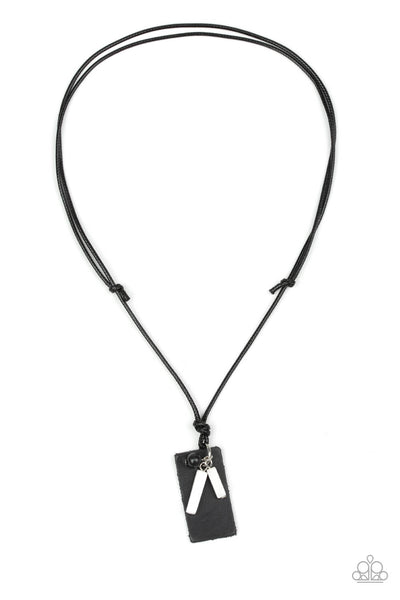 Paparazzi Explorer Edge - White Necklace - Princess Glam Shop