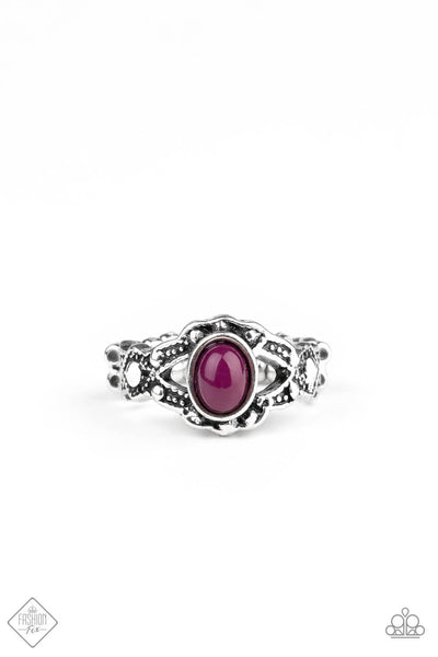 Paparazzi Definitely DOT! Purple Ring - Princess Glam Shop