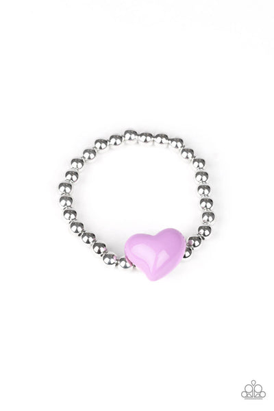 Paparazzi Starlet Shimmer Big Heart Bracelet Bundle - Princess Glam Shop