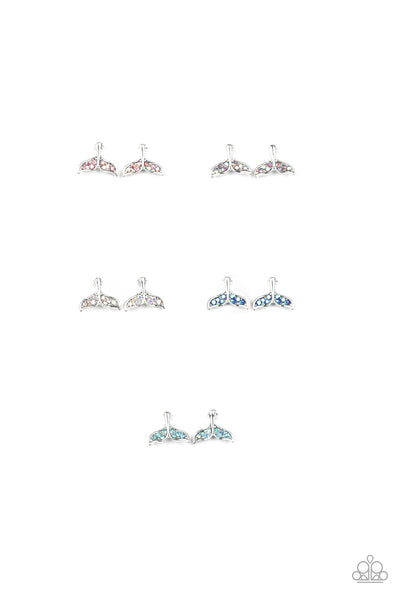 Paparazzi Mermaid Fin Starlet Shimmer Children's Earring Bundle - Princess Glam Shop