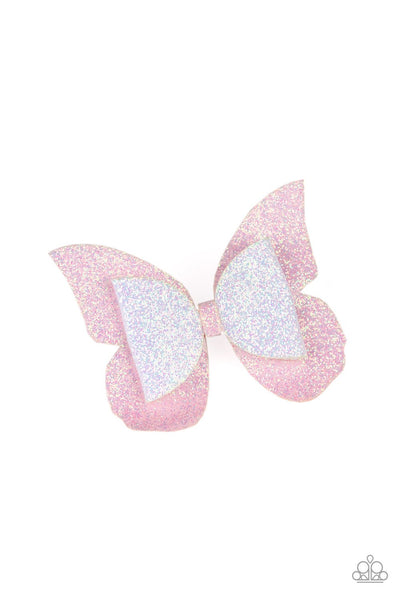Paparazzi Butterfly Bouquet - Pink Hair Clip - Princess Glam Shop