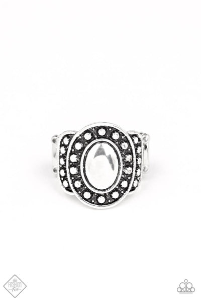 Paparazzi Stacked Stunner Ring - Princess Glam Shop