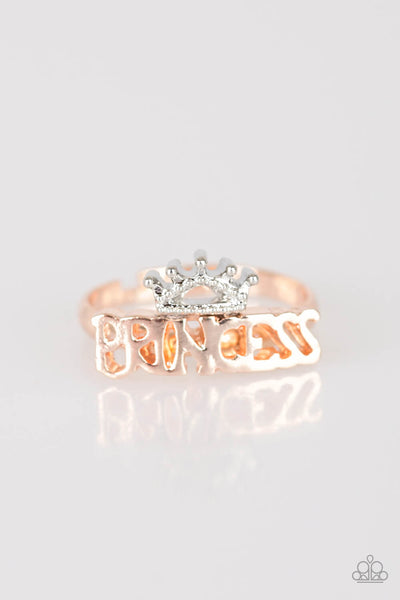 Paparazzi Starlet Shimmer Princess Adjustable Ring - PrincessGlamShop