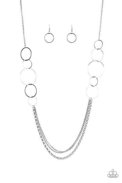 Paparazzi Ring In The Radiance Black Necklace Set - Princess Glam Shop