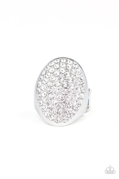 Paparazzi Bling Scene - Silver Ring - Princess Glam Shop
