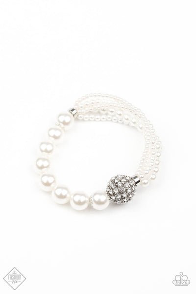 Paparazzi Show Them The DIOR Bracelet - White - Princess Glam Shop