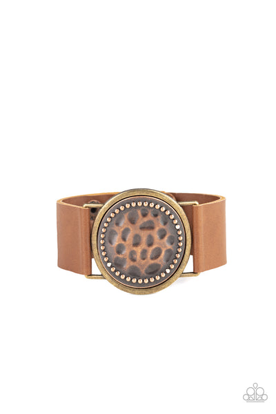 Paparazzi Hold On To Your Buckle - Copper - Princess Glam Shop