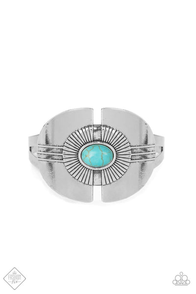Paparazzi Canyon Couture Bracelet - Blue - Princess Glam Shop
