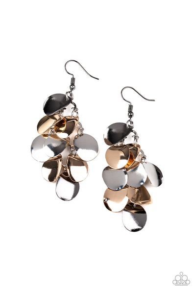 Paparazzi Resplendent Reflection - Multi Earrings - Princess Glam Shop