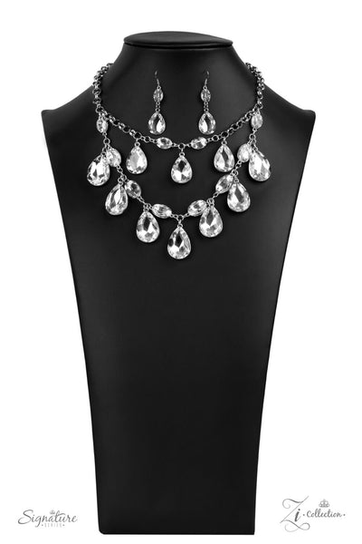 Paparazzi The Sarah - 2020 Signature Zi Collection Necklace Set - Princess Glam Shop