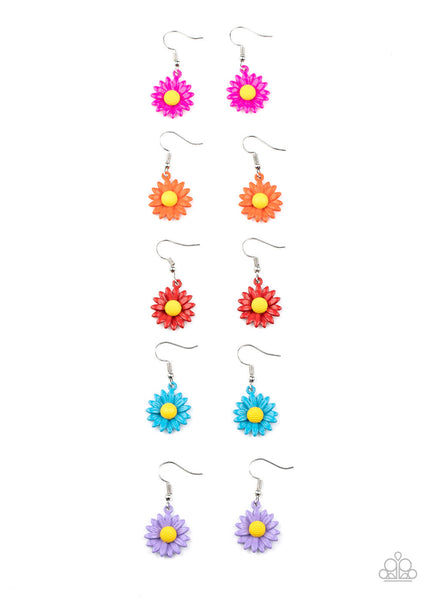 Paparazzi Daisy Starlet Shimmer Children's Earring Bundle - Princess Glam Shop