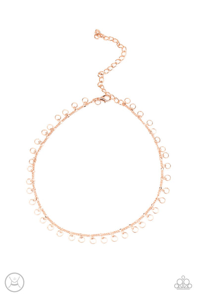Paparazzi Minimalist Magic - Copper Necklace Set - Princess Glam Shop