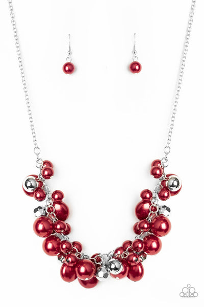 Paparazzi Battle of the Bombshells - Red Necklace Set EXCLUSIVE 2020 CONVENTION ITEM - Princess Glam Shop