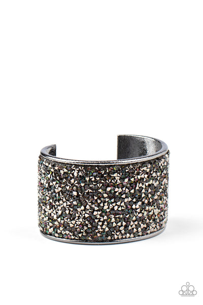 SOLD OUT Paparazzi Stellar Radiance Multi Blinged Out Cuff Bracelet - Princess Glam Shop
