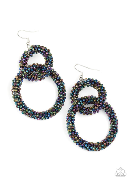 Paparazzi Luck BEAD a Lady - Multi Earrings - Princess Glam Shop