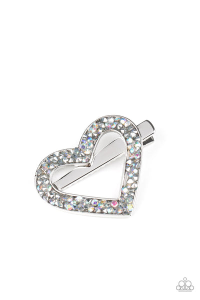 Paparazzi Love is a Battlefield - Multi Hair Clip - Princess Glam Shop