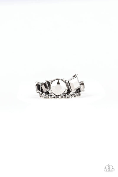 Paparazzi Champion Couture - Silver Ring - Princess Glam Shop