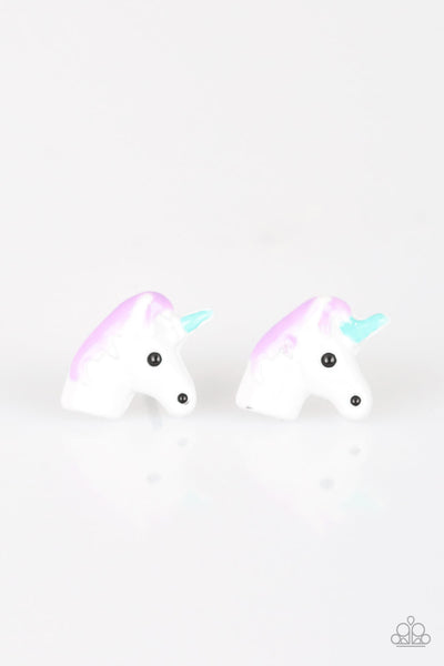 Paparazzi Starlet Shimmer Children's Unicorn Earring Set - PrincessGlamShop