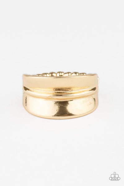 Paparazzi Band Together - Gold Ring - Princess Glam Shop