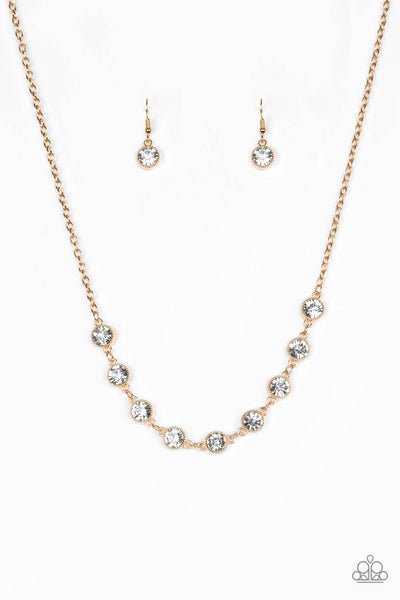 Paparazzi Starlit Socials - Gold Necklace Set - Princess Glam Shop