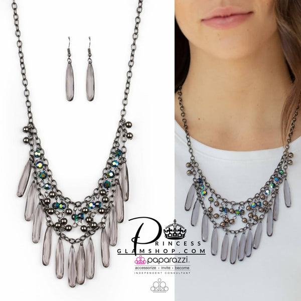 Paparazzi Uptown Urban - Multi - Life Of The Party Exclusive Necklace Set - Princess Glam Shop